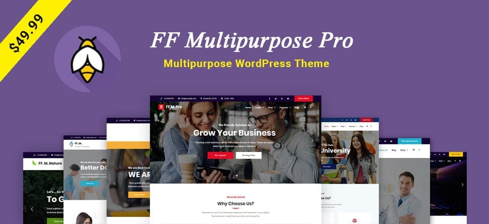 FF Multipurpose Pro – Multipurpose WordPress Theme