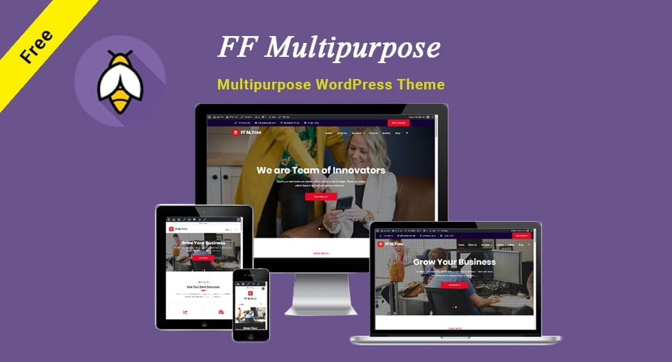 FF Multipurpose WordPress Theme is Now Live on WordPress.org